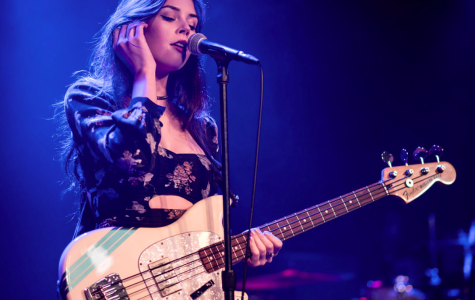 Elise performing live at the Teragram Ballroom in downtown Los Angeles on August 19, 2017.
