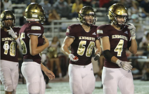 October 27, 2019: Knights Crush Lancers 53-13