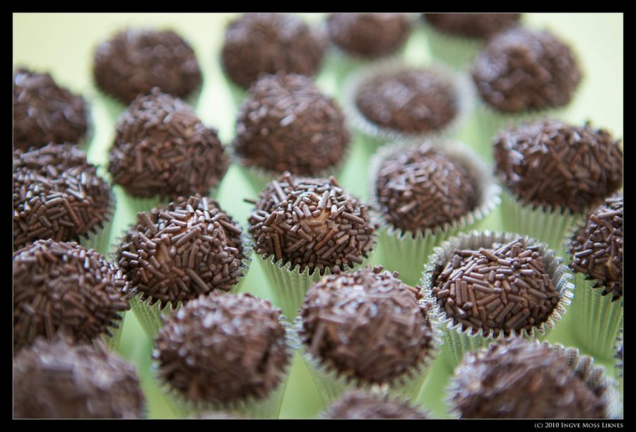 Chocolate brigadeiros are one of Bakds many specialties.