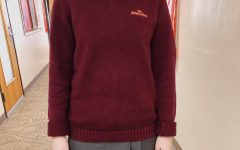 Underclassmen in Maroon: Senior Sweaters