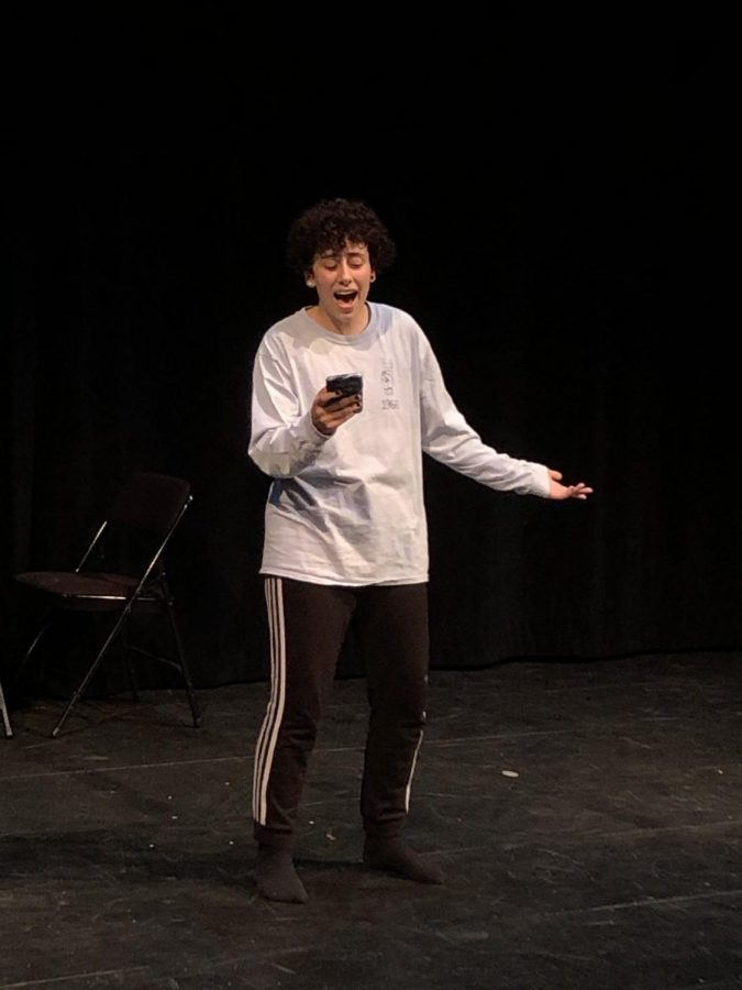 "Gabe Worstell ('20) delivered a powerful performance of ""I'd Rather be Me"" from the Broadway musical Mean Girls."