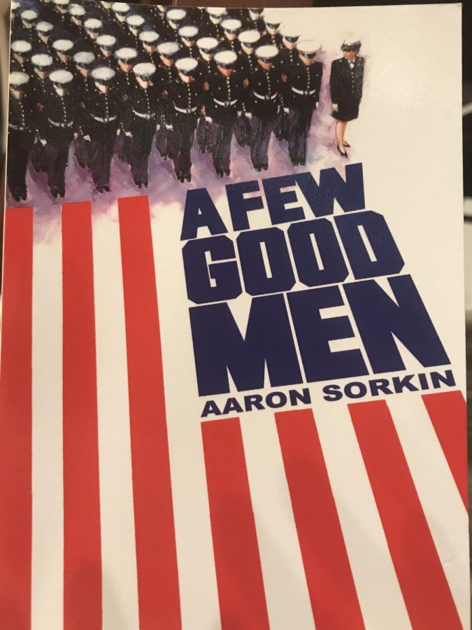 Pictured: The official copy of the script members of the A Few Good Men cast will be using. As of now, most rehearsals are centered around Twelfth Night; rehearsals for A Few Good Men are expected to start at the beginning of March.