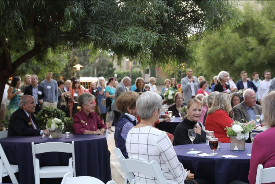 From October 11 to October 13, alumni returned and socialized with family, classmates, friends, retirees, faculty, and staff.