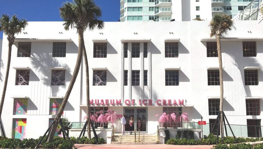 The Museum of Ice Cream,  originally a summer pop-up, now has permanent locations such as this one in Miami.