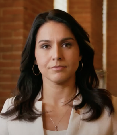 Despite polling at sub-one percent, Representative Tulsi Gabbard is the sole person of color left in the election. Is that a problem?
