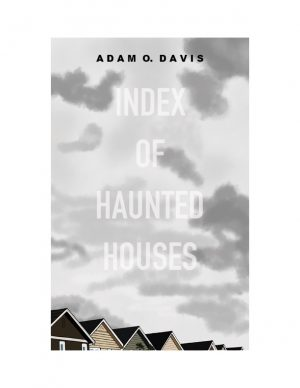 "The front cover design for Index of Haunted Houses. Described in the introduction as ""epigrammatic, apocalyptic, an downright scary at times,"" Index of Haunted Houses seeks primarily to tell us ""ghost stories"" — tales of the both the past and the present."