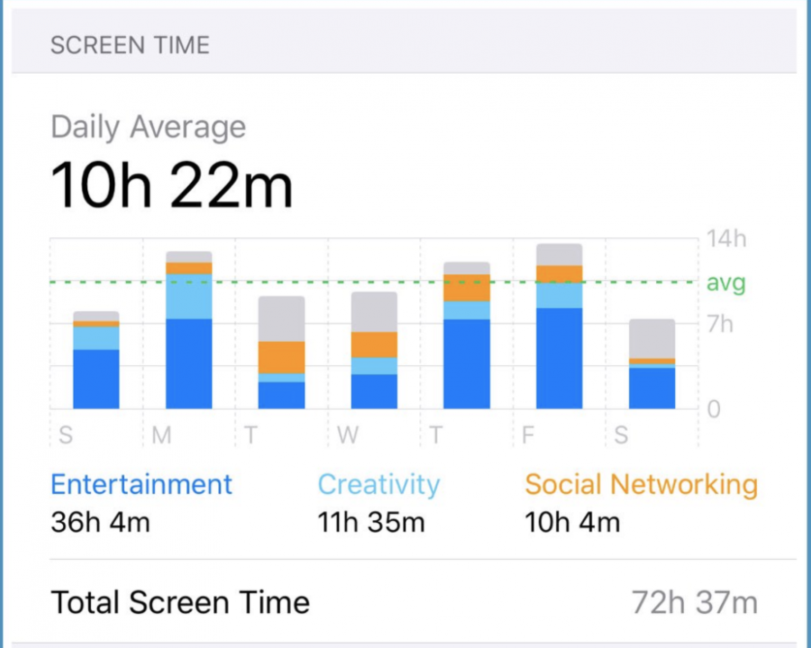 Many people have reported increased screen time during quarantine, and sites such as Netflix, Instagram, Tiktok, and Youtube reported surges in activity.