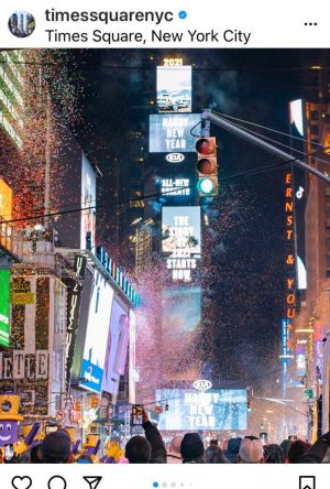 This year's ball drop in Times Square was especially meaningful, bringing a final end to the unfortunate year of 2020.