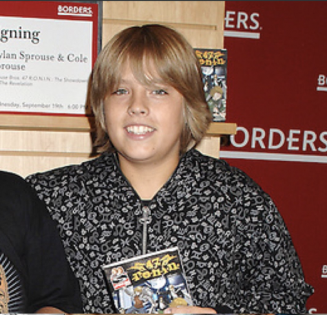 At age sixteen, Cole Sprouse had yet to mature physically and still looked more or less like a gawky kid.