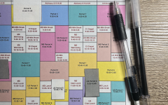 Putting together students schedules can be like a puzzle or sudoku-type game.