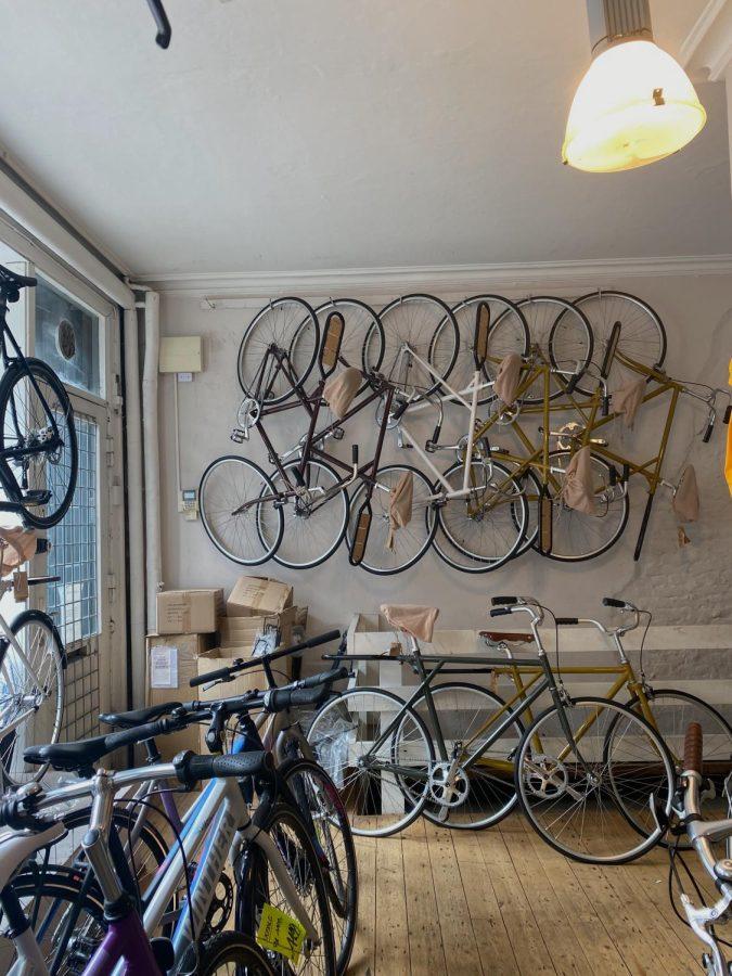 Star Cykel is a bike rental store on Norrebrogade, the main shopping street of Copenhagen.